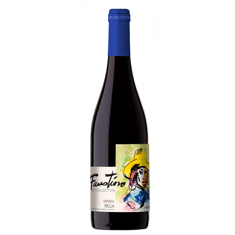 Faustino Art Collection Vino Crianza Tinto Tempr. 750 Ml Sin color Vino Tinto