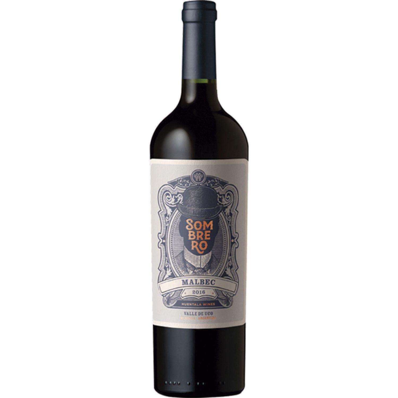 HUENTALA WINES Sombrero Malbec 750 ML Sin color Vino Tinto