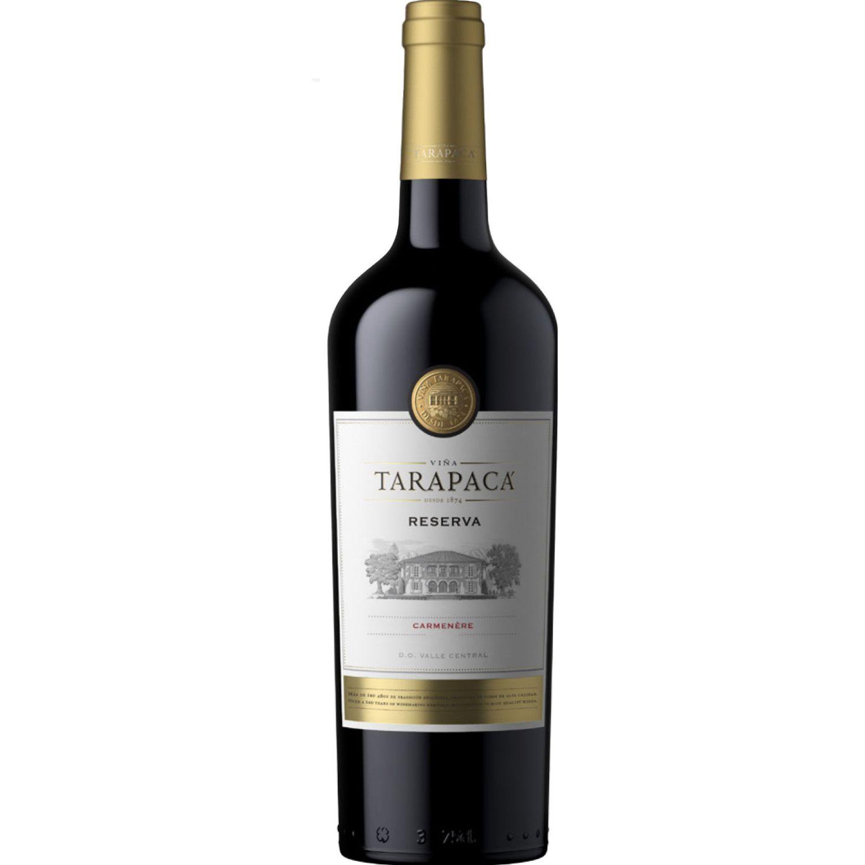 VIÑA TARAPACÁ Reserva Tinto Carmenere 750 Ml Sin color Vino Tinto