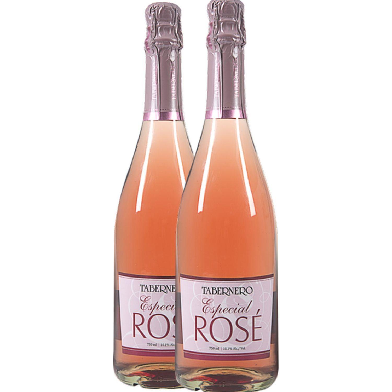 TABERNERO Especial Rosé 2 Und X 750 Ml Sin color Espumante