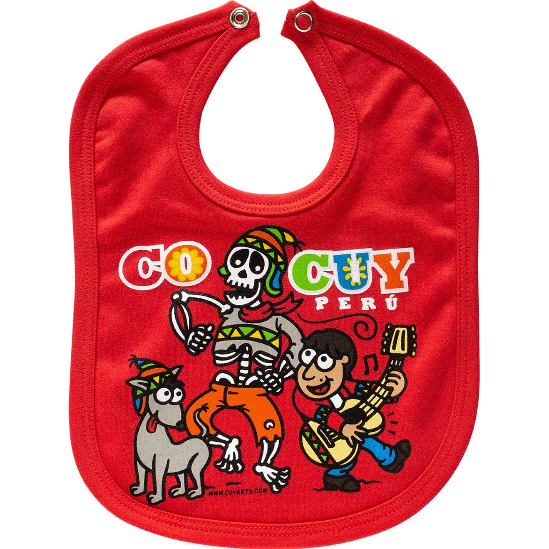 CUY ARTS Coco Cuy Rojo Baberos