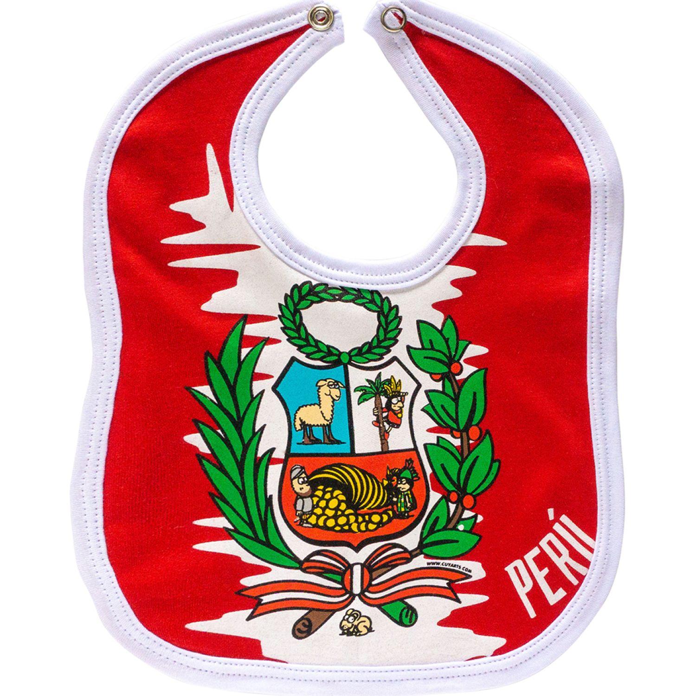 CUY ARTS Escudo Rojo Baberos