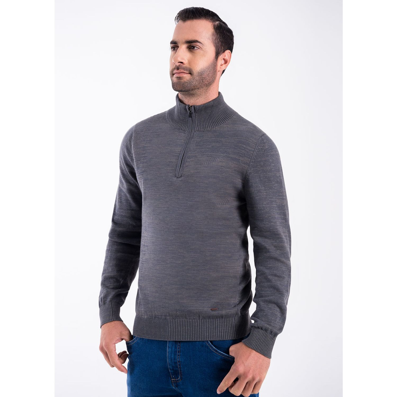 Norton 116-Sweater CARBON/MELANGE Jerseys