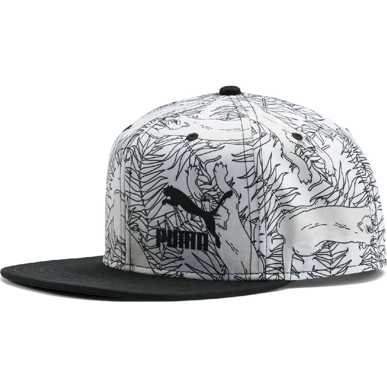 Puma ls colourblock cap Blanco / negro Gorros de Baseball