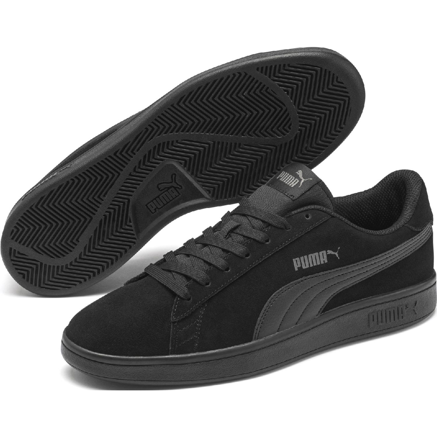 Puma puma smash v2 Negro / verde Walking