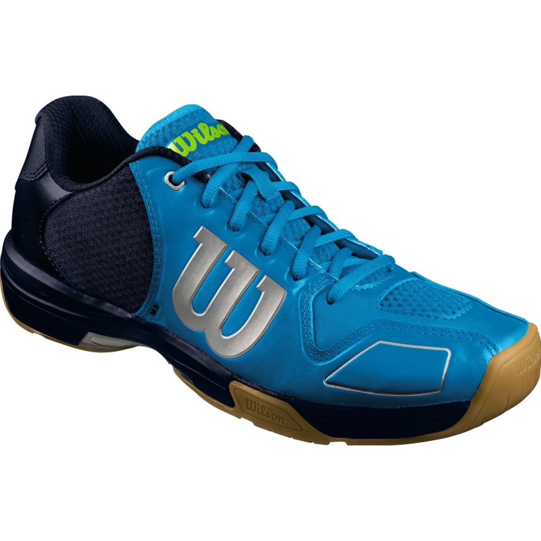 Wilson Vertex Celeste / Navy Tennisy deportes con raqueta