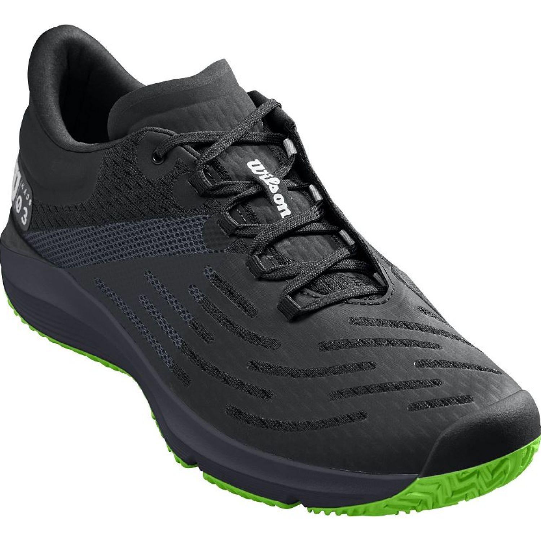 Wilson Kaos 3.0 Negro / verde Tennisy deportes con raqueta