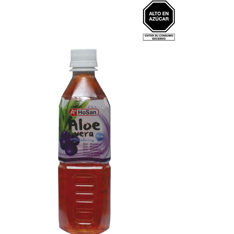 A+ Bebida Aloe Sabor Blueberry 500ml Bot