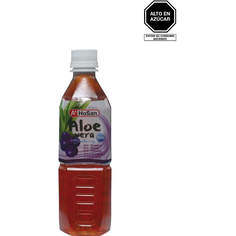 A+ Bebida Aloe Sabor Blueberry 500ml Bot 0 zumos
