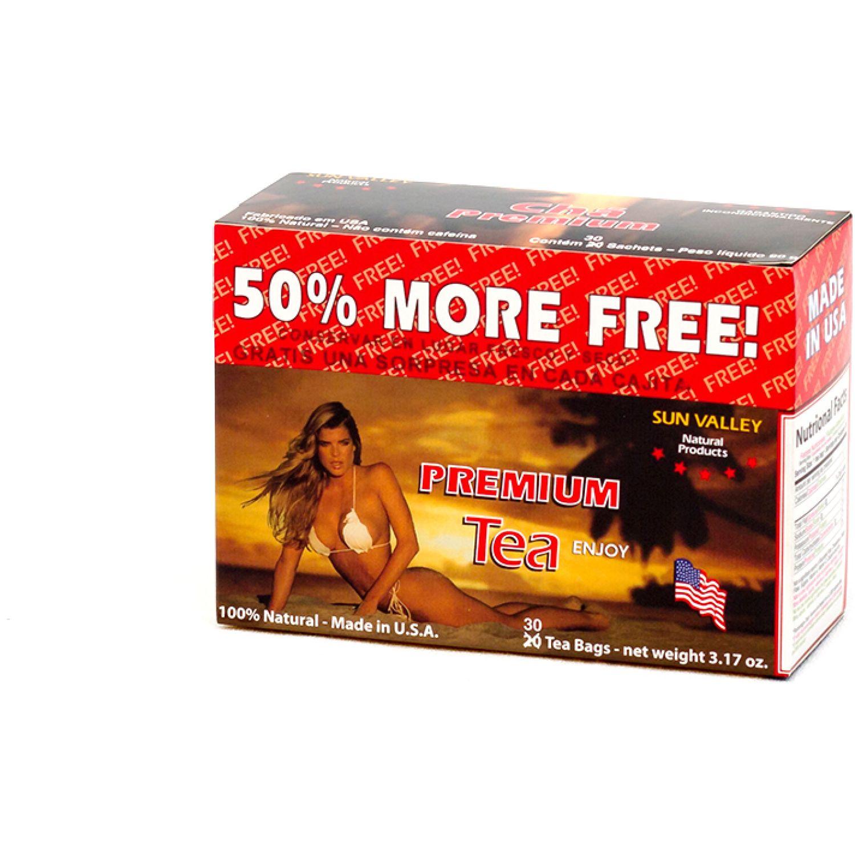 SUN VALLEY Te Diet. Premium 90g Caj Sin color Té