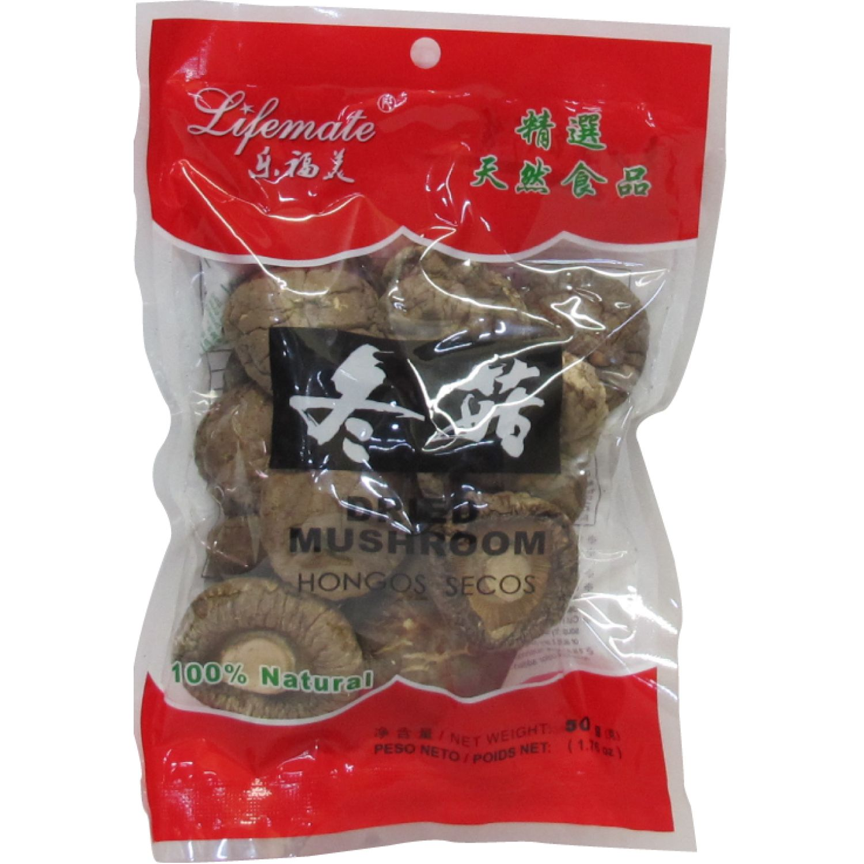 LIFEMATE FB Hongo Shitake 4-4.5cm 50g Bol Varios Frutas secas