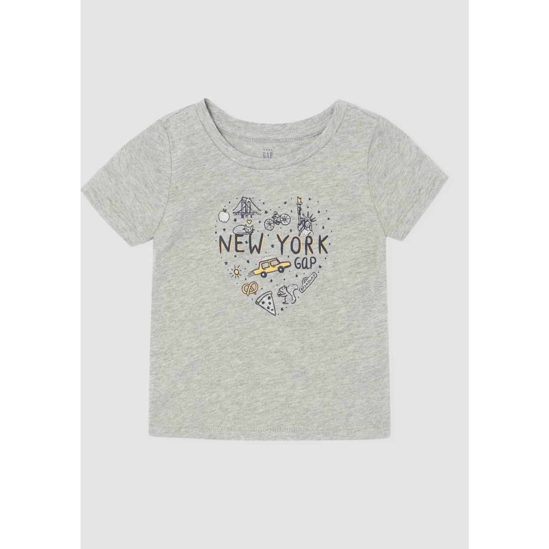 GAP POLO NEW YORK TODDLER Gris Polos