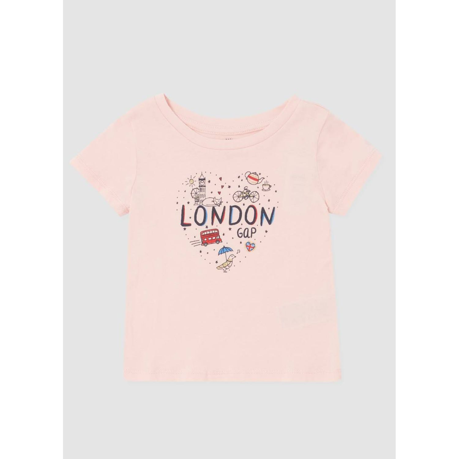 GAP Polo London Toddler Rosado Polos