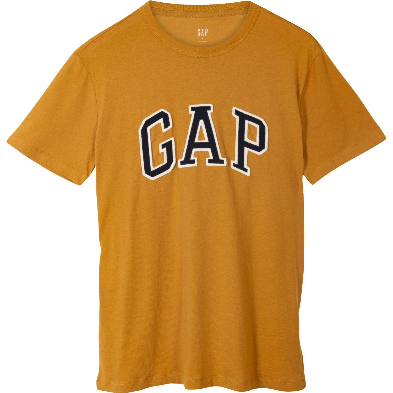 GAP Polo Basic Logo Gap Amarillo Polos