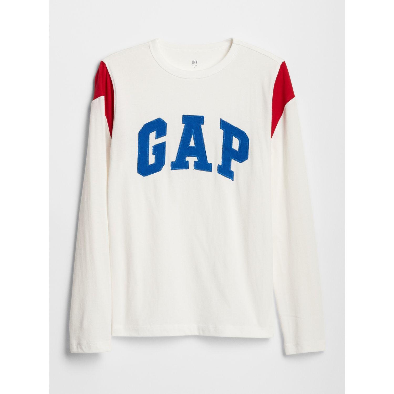 GAP Polo Logo Blanco Tees