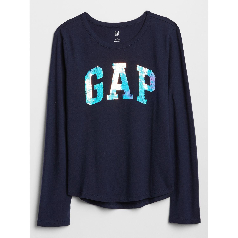 GAP Polo Logo Flippy Azul oscuro Tees