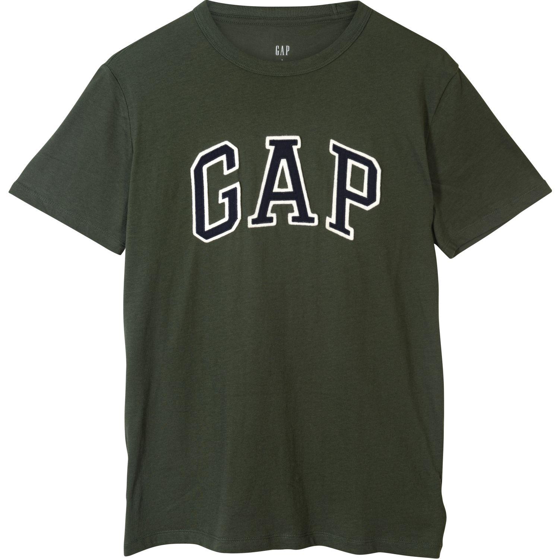 GAP Polo Basic Logo Gap VERDE / OLIVO Polos
