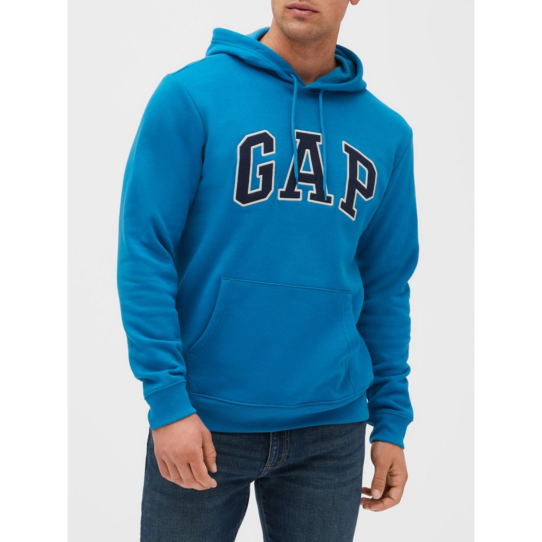 GAP POLERA LOGO GAP Celeste Hoodies y Sweaters Fashion