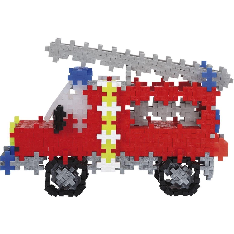 PLUS PLUS Camion De Bomberos Y Personal
