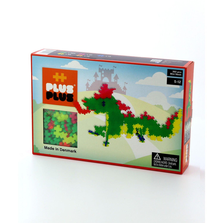 PLUS PLUS Mini Basico 360  Dragon MULTICOLOR Juegos de construcción