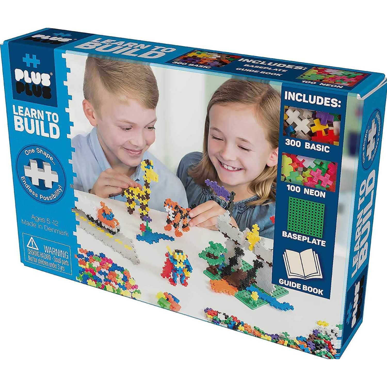 PLUS PLUS APRENDE A CONSTRUIR  BASICO MULTICOLOR Juegos de construcción