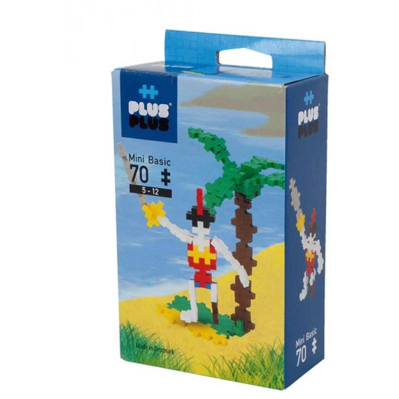 PLUS PLUS Mini Basico 70  Pirata MULTICOLOR Juegos de construcción