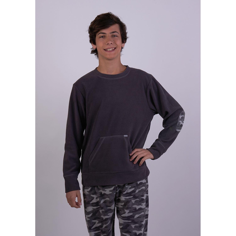 Kayser Pijama Polar 66.1118 GRAFITO Conjunto de pijama
