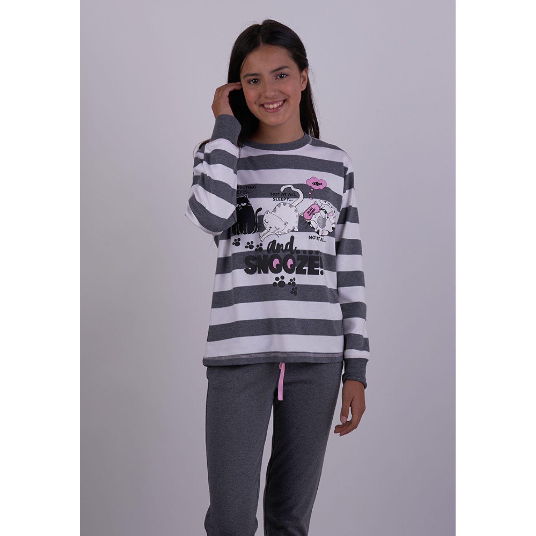 Kayser Pijama Algodón 65.1267 GRAFITO Sets de Pijama