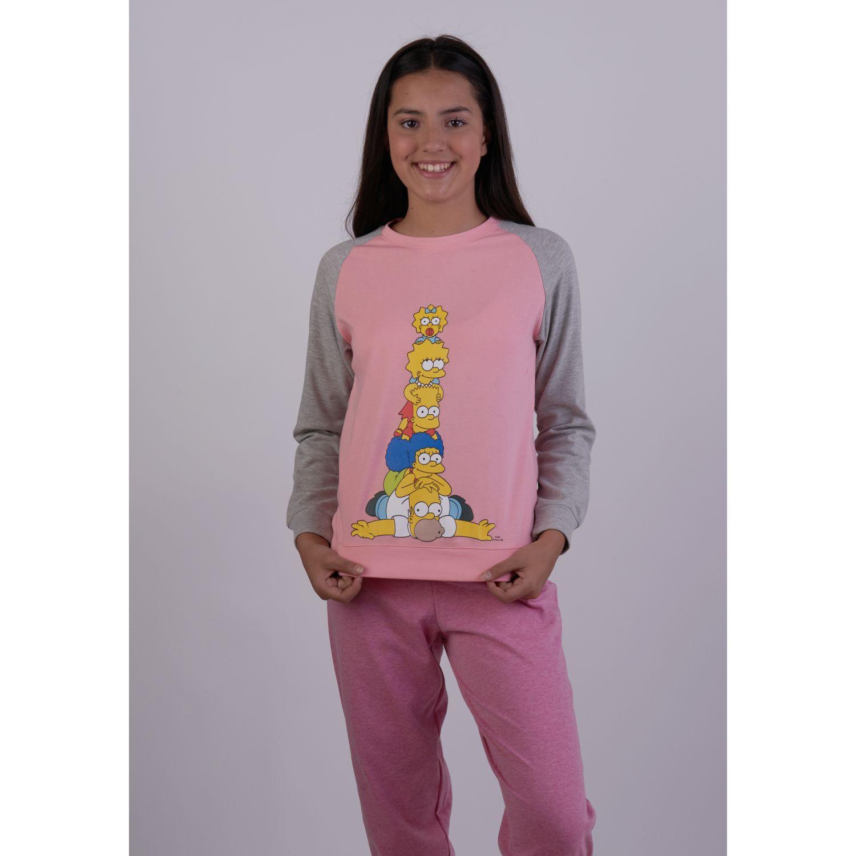Kayser PIJAMA JR. DM ALGODON Rosado Rosado Sets de Pijama