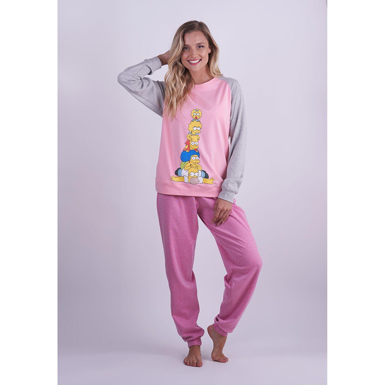 Kayser pijama dm. algodon rosado Rosado Pijamas y Camisetas de Dormir