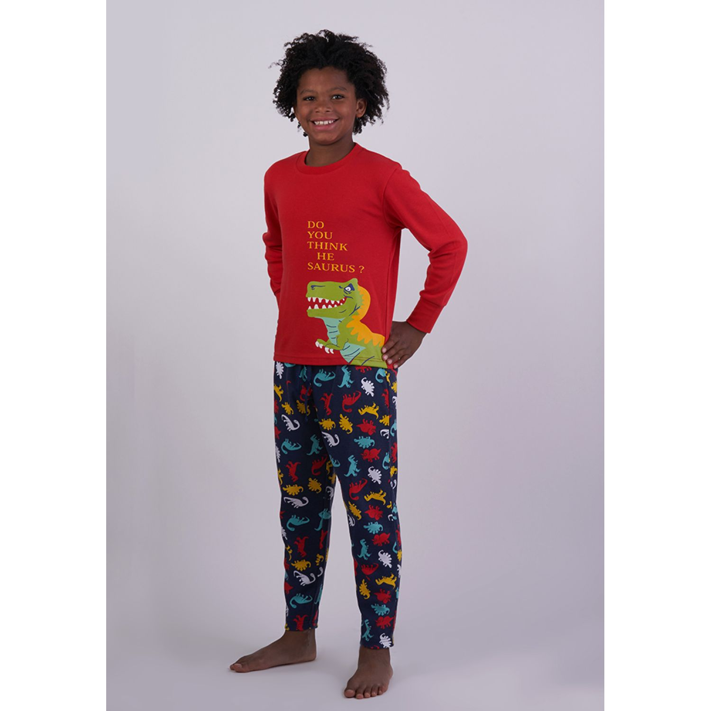 Kayser Pijama Algodón 64.1119 ROJO Conjunto de pijama