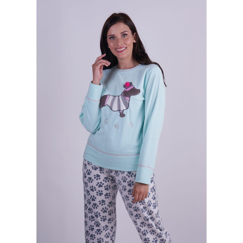 Kayser Pijama Polar 60.1262 MENTA Pijamas y Camisetas de Dormir