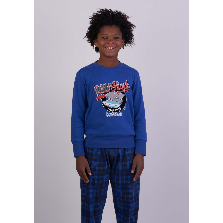 Kayser Pijama Algodón 64.1124 AZUL Conjunto de pijama