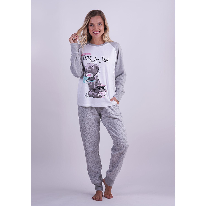 Kayser pijama algodÓn 60.1280 GRIS Pijamas y Camisetas de Dormir