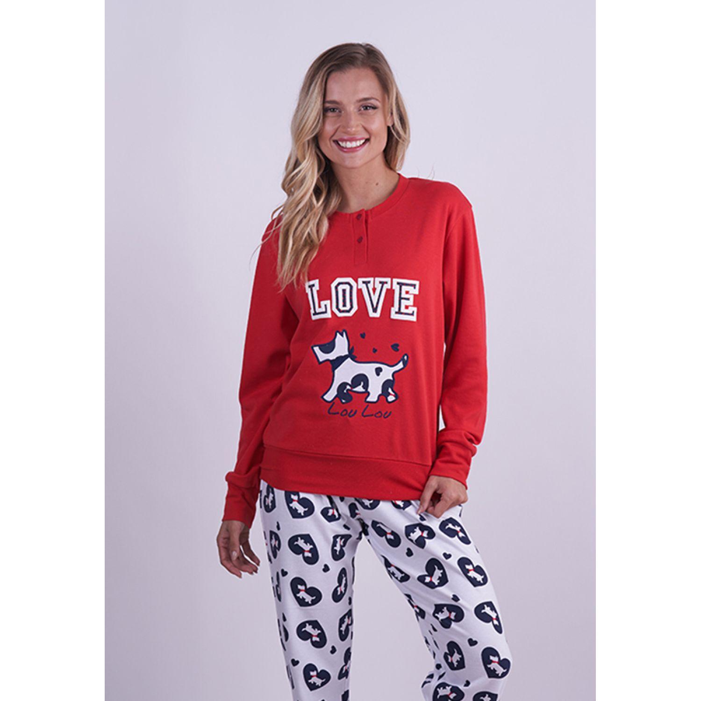 Kayser Pijama Algodón 60.1281 NEGRO Pijamas y Camisetas de Dormir