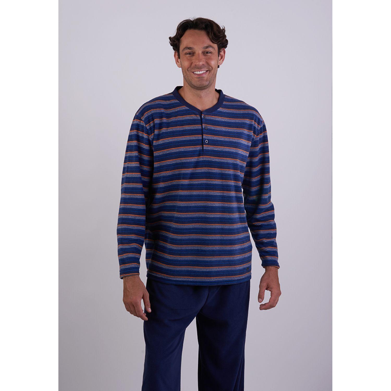 Kayser Pijama Polar 67.1114 AZUL Conjuntos para dormir