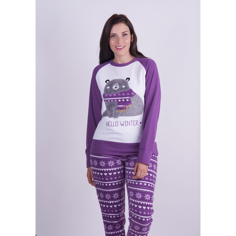 Kayser Pijama Polar 60.1261 MAGENTA Camisones y camisetas de dormir