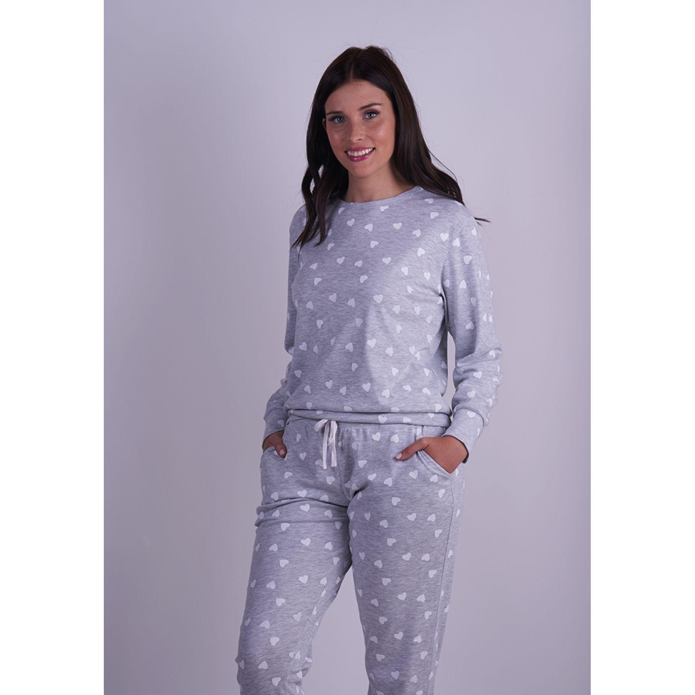 Kayser PIJAMA ALGODÓN 60.1282 GRIS Pijamas y Camisetas de Dormir