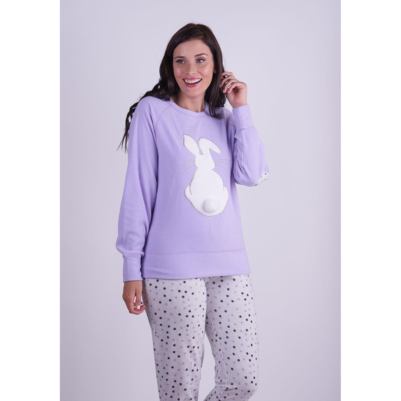 Kayser Pijama Polar 60.1260 LAVANDA Pijamas y Camisetas de Dormir