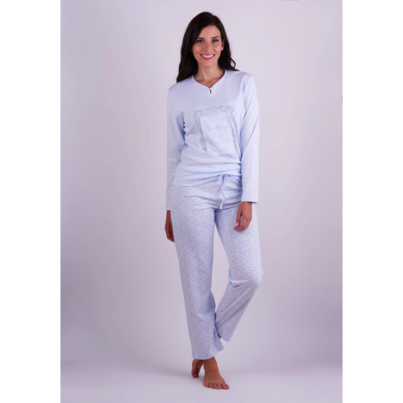 Kayser Pijama Algodón 60.1246 CELESTE Camisones y camisetas de dormir