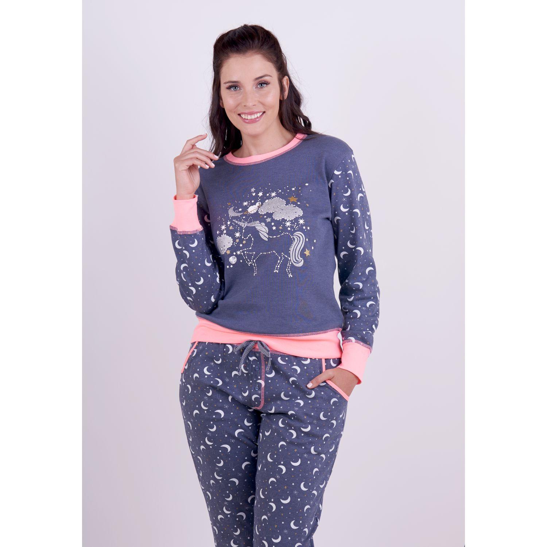 Kayser Pijama Algodón 60.1250 AZUL Camisones y camisetas de dormir
