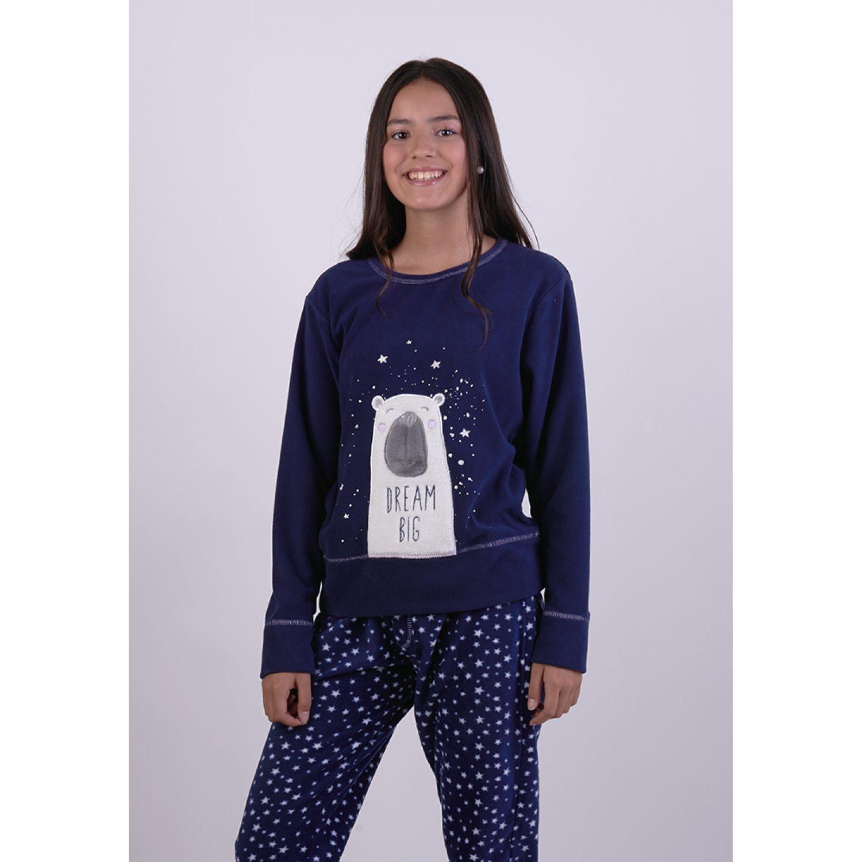 Kayser Pijama Polar 65.1269 AZUL Sets de Pijama