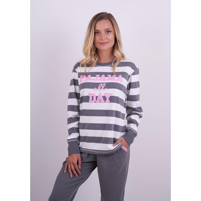 Kayser Pijama Algodón 60.1251 GRAFITO Camisones y camisetas de dormir