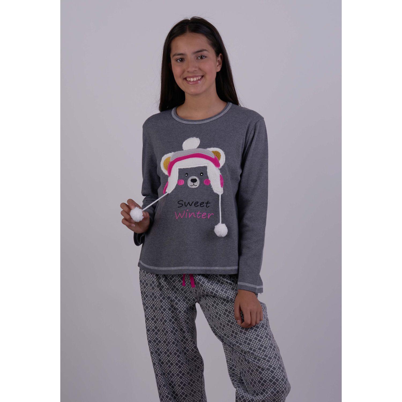 Kayser Pijama Algodón 65.1279 GRAFITO Conjunto de pijama