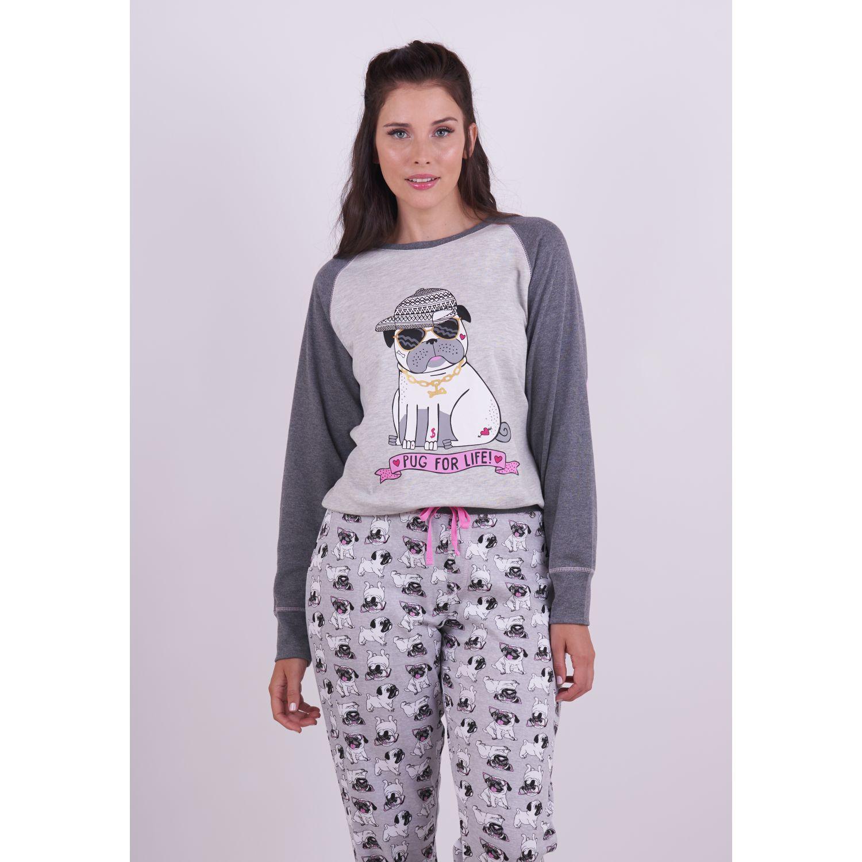 Kayser Pijama Algodón 60.1255 GRIS Camisones y camisetas de dormir