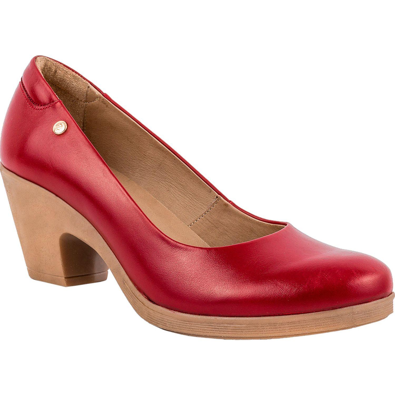 Ecco Natalie46 Rojo Estiletos y pumps