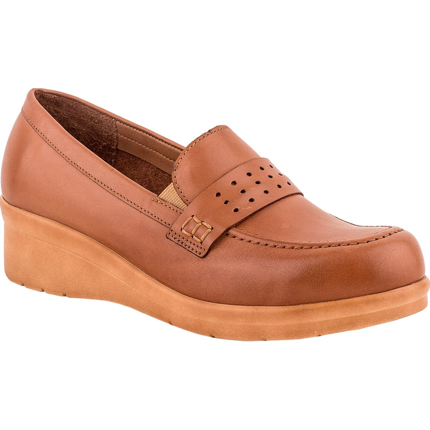 Ecco JEANETTE07 Caramelo Mocasines y Slip-Ons