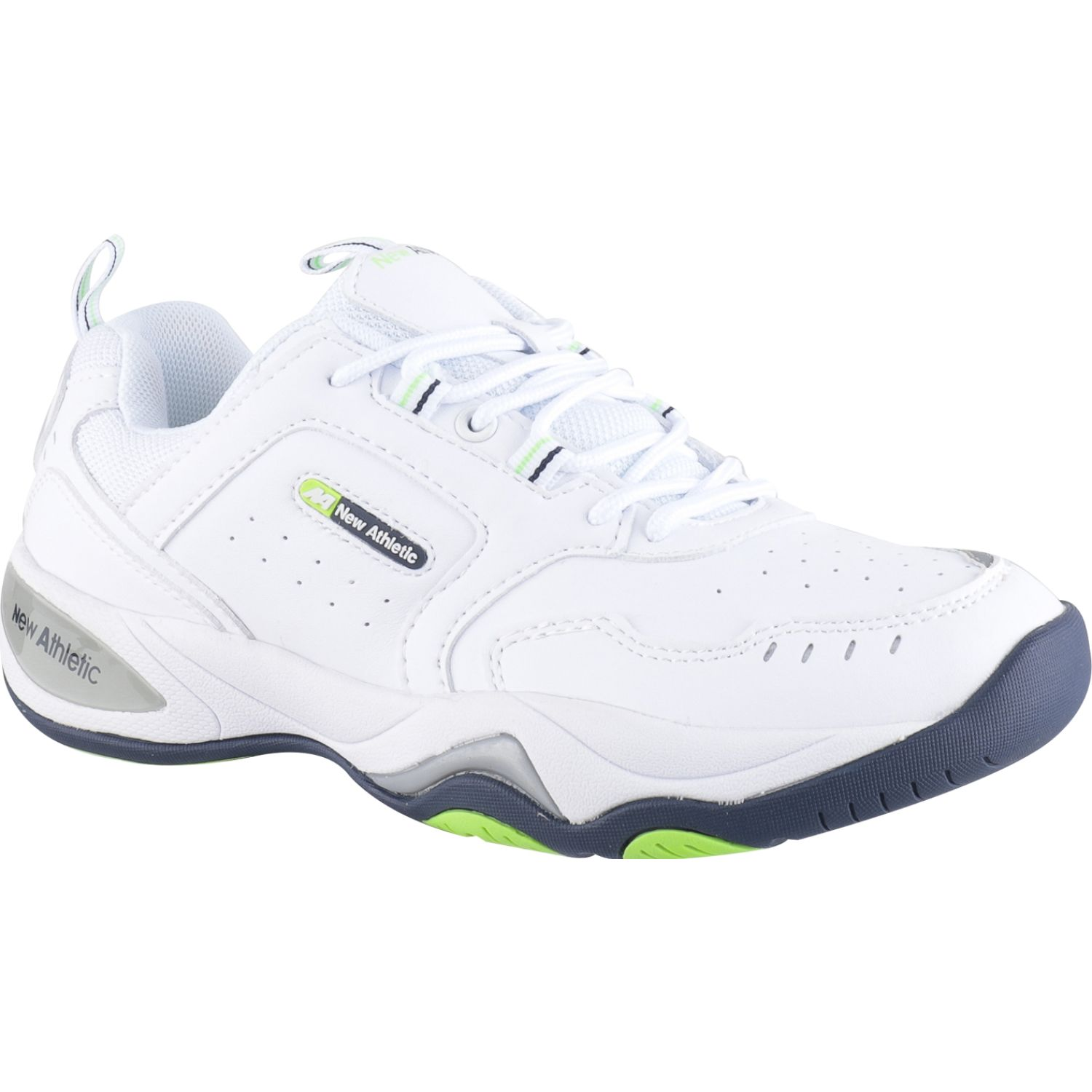 NEW ATHLETIC Row Blanco / verde Zapatillas de moda