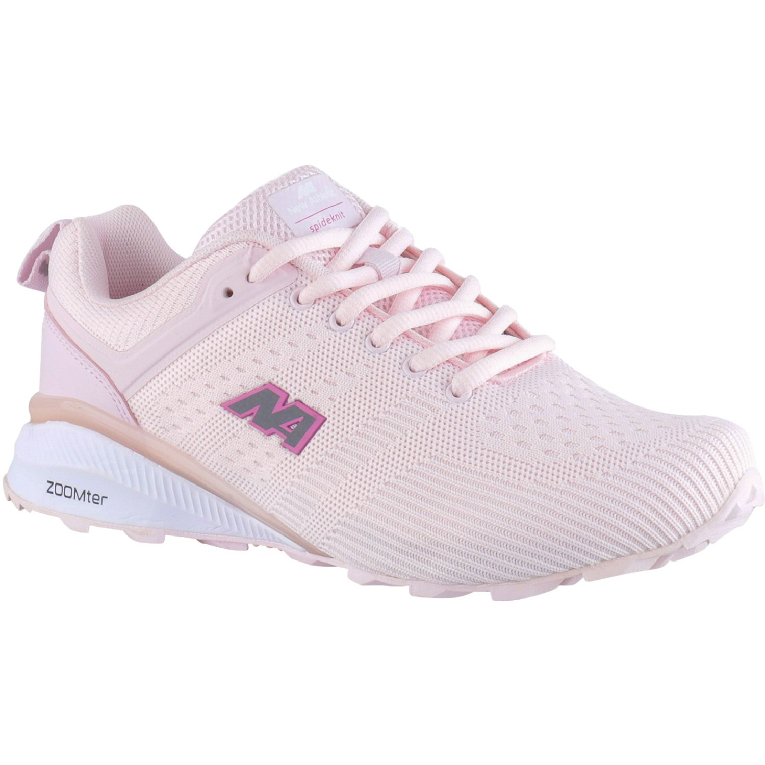 NEW ATHLETIC Zumstar Rosado Calzado de correr