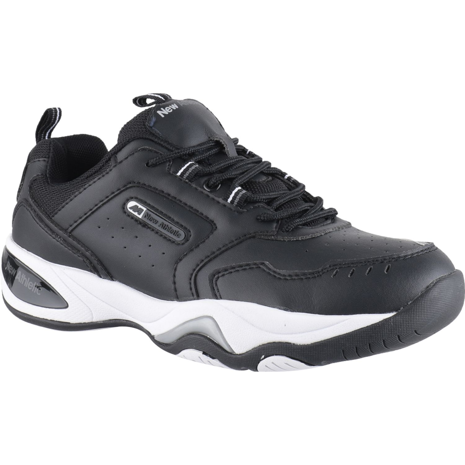 NEW ATHLETIC Row Negro Zapatillas de moda